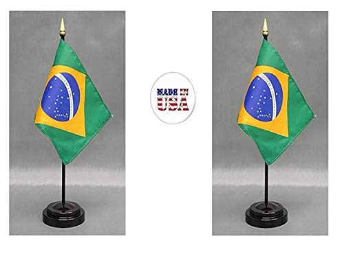 Made in The USA. 2 Brazil Rayon 4
