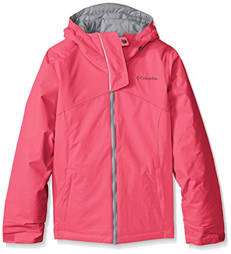 Columbia Girls Crash Course Jacket, Medium, Punch Pink by Columbia