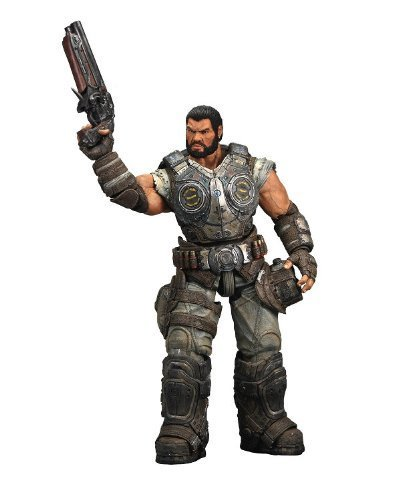 Gears of War 3 Series 2 Dominic Santiago Action Figure by NECA