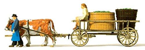 (HO Scale Wine Wagon/Cows)