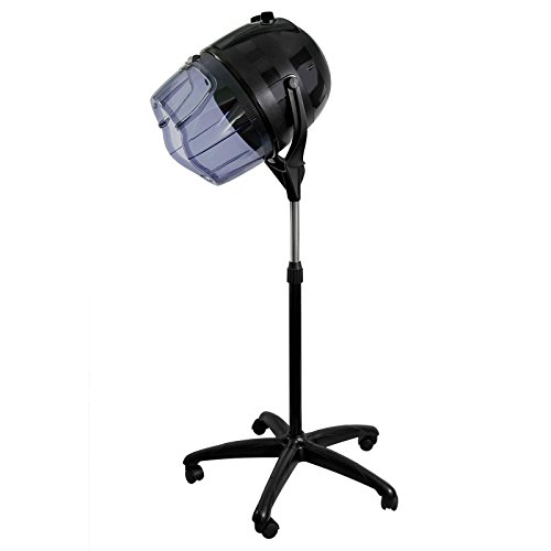 Salon Sundry Professional Bonnet Style Hood 1,000 Watt Salon Hair Dryer - Black from Salon Sundry