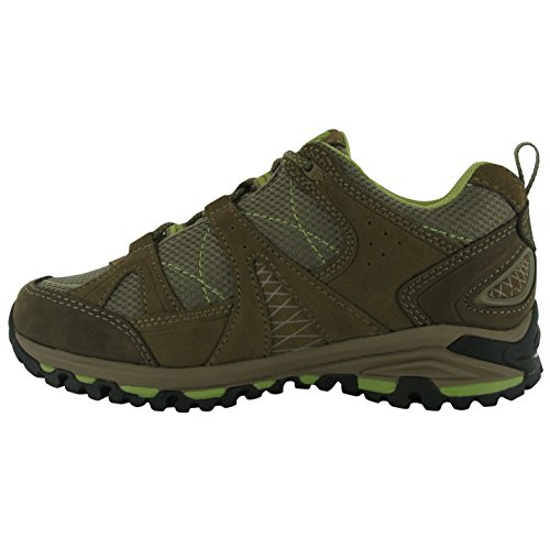 Karrimor Womens Sirocco Low Ladies Walking Hiking Boots Shoes Roots/Green 7 (41) OLl6K
