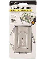 Nite Ize Financial Tool, Multi Tool Money Clip, Minimalist Wallet, Money Clip, Multi Tool