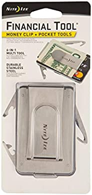 Nite Ize MCMT-11-R7 Financial Tool Money Clip, Stainless Steel