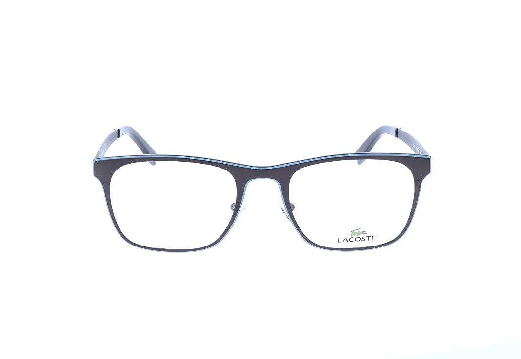 52.0 Lacoste Mens Brillengestelle L2200 Optical Frames Schwarz Black