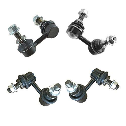 4 Piece Front & Rear Suspension Sway Bar End Link Kit for Nissan Pathfinder
