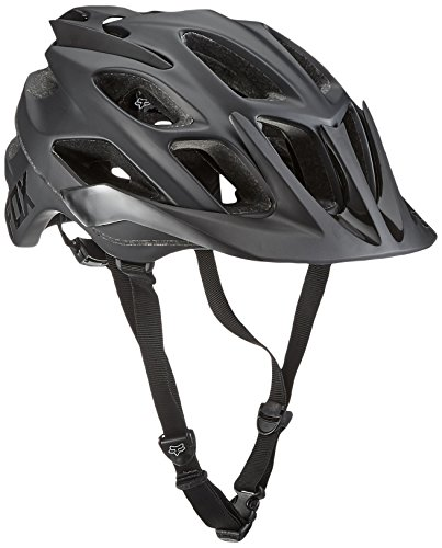 Fox Head Adult Flux MTB Racing Bike Helmet (Matte Black, X-Small/Small) (T-shirt Fox Adult)