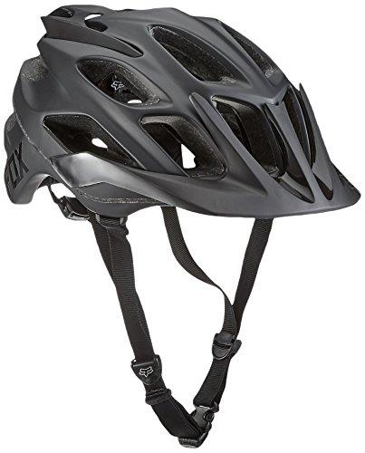 Fox Head Adult Flux MTB Racing Bike Helmet (Matte Black, X-Small/Small) - Fox Flux Mtb Helmet
