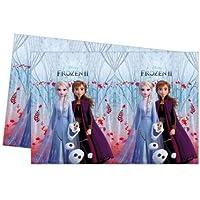 Mantel tamaño 180 x 120 cm – Fiesta temática para cumpleaños (Frozen 2)