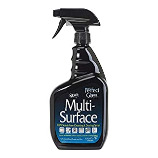 HOPE'S Perfect Glass Multi-Surface Purpose Household Spray, Kitchen Countertop Degreaser, Bathroom Shower and Sink Cleaner, Streak Free, Pack of 1 (32PGM12)