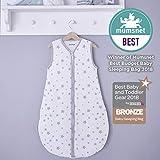 Silentnight Safe Nights 2.5 Tog Baby Sleep Bag - 0-6 Months - Grey Star