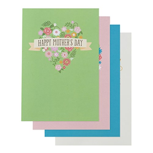 DaySpring Mother's Day Boxed Greeting Cards w Embossed Envelopes - Garden, 12 Count