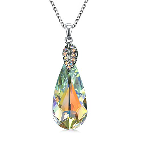 Crystal Heart Necklace Girlfriend Women