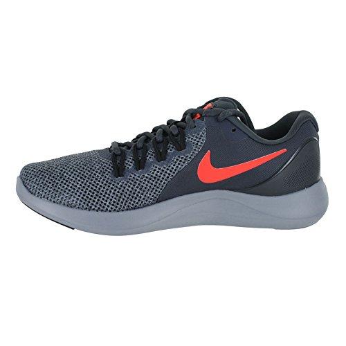 Nike Lunar Apparent Herren Laufschuh Anthrazit Crimson Blk Grau