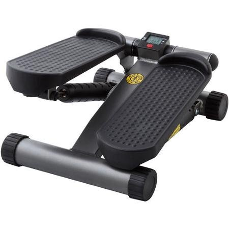 - Gold's Gym Mini Stepper with Monitor Weight Capacity: 250 lbs With Electronic Monitor Tracks Steps, Time And Calories Burned by Golds Gym