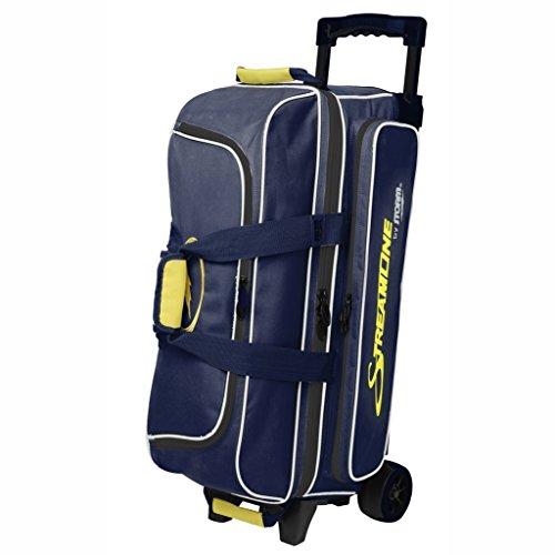 Storm Streamline 3 Ball Bag Navy/Gray/Yellow (Ball Bag 3 Bowling)