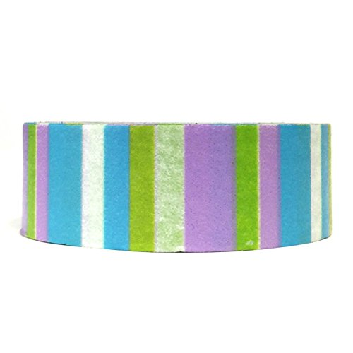 Wrapables Colorful Patterns Stripe Masking