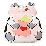 Alkem Christmas Cartoon Cow Bed Double Bean Bag Soft Mattress for Children