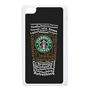 iPod Touch 4 Phone Case White Starbucks 4 HKL233149