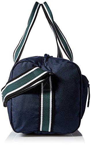 Lacoste Men's Tennis Set Duffle Bag, Peacoat Sinople Stripe, One Size by Lacoste (Image #3)