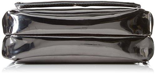 Liebeskind Berlin Damen Kawai Specch Umhängetaschen, Silber (Silver 9800), 6x18x6 cm