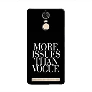 Cover it up Vogue Issues Hard Case for Lenovo K5 Note - Multi Color