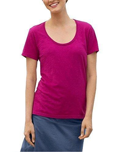 Camiseta Cuello redondo de Eddie Bauer fucsia
