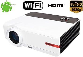1080P Native Resolución Full HD 5000 Lumen 10000: 1 Home Cine en ...
