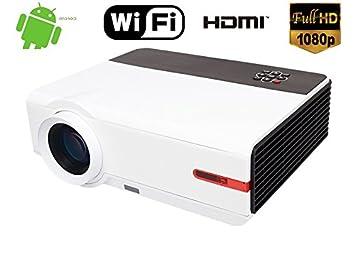 1080P Native Resolución Full HD 5000 Lumen 10000: 1 Home ...