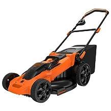 BLACK + DECKER CM2040 Lithium 3-In-1 Cordless Mower, 20-Inch, 40-Volt