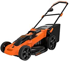 BLACK + DECKER CM2040 Lithium 3-In-1 Cordless Mower, 20-Inch, 40-Volt