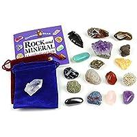 Dancing Bear Rock and Mineral Colección Educación