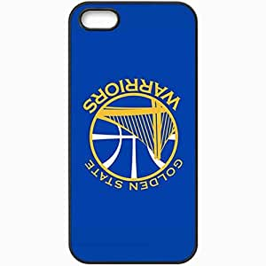 Personalized iPhone 5 5S Cell phone Case/Cover Skin Nba Golden State Warriors 4 Sport Black