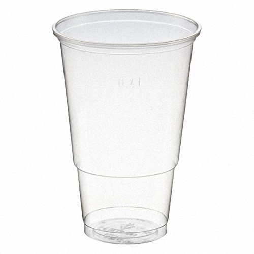 200 Stk. Trinkbecher CLASSIC+ 400 ml 7.0gr., PP, transparent klar