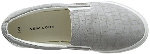 New Look Women's Mator Closed Toe Heels Grey (Mid Grey 4) c4PUkNjQl