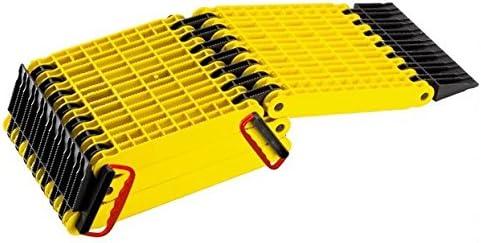 Uniko - Rampa plegable 6en 1, plancha de desatasco plegable y de plástico