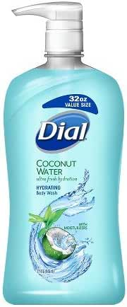 Dial Body Wash, Coconut Water, 32 Ounce
