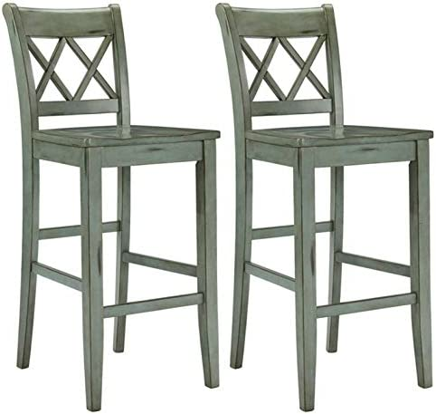picture of Signature Design by Ashley » Mestler Bar Stool » Pub Height » Vintage