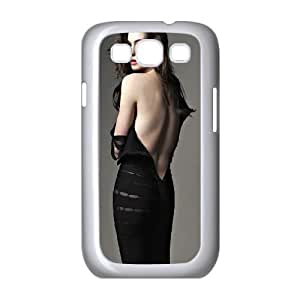 Celebrities Beautiful Anne Hathaway Samsung Galaxy S3 9300 Cell Phone Case White DIY GIFT pp001_8999042