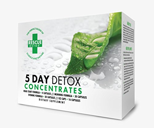 Rescue Detox Permanent 5 Day Detox Concentrates (Best 5 Day Detox Cleanse)
