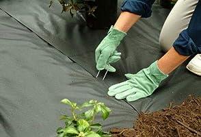 OK5STAR-Pinzas de jardín en Forma de U (50 Unidades, 3 x 150 mm ...