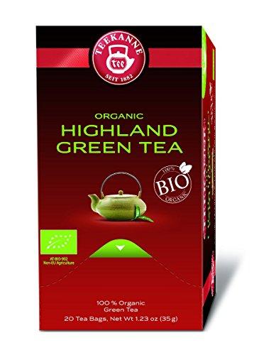 Teekanne Grüner Tee aus BIO-Ernte 20 Beutel, 2er Pack (2 x 35 g Packung)