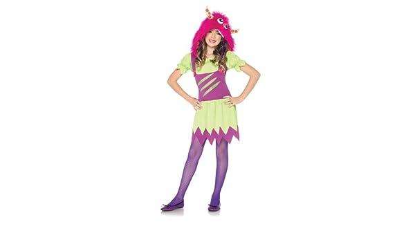 Leg Avenue - Disfraz de monstruos sa para niña, talla S ...