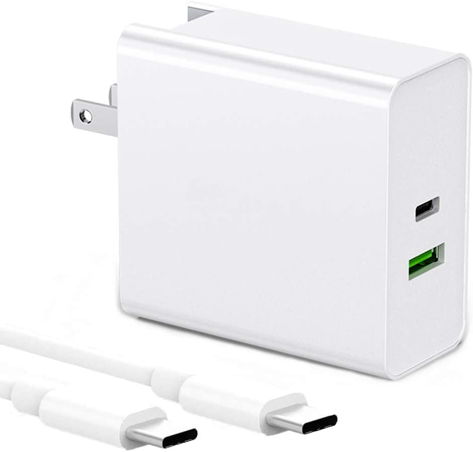 48W USB C Charger, Compatible with Macbook Pro & Air Charger, for MacBook Air 13 inch 2020/2019/2018, MacBook 12 inch,MacBook Pro 13 inch,New 2020 iPad Air 4,iPad Pro 12.9 Gen 4/3, iPad Pro 11 Gen 2/1