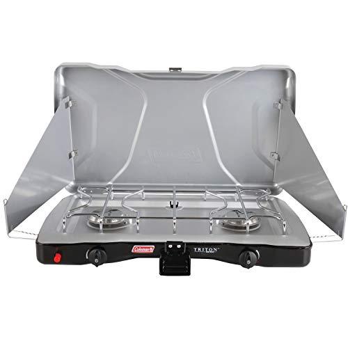 coleman 3 burner stove griddle - 9