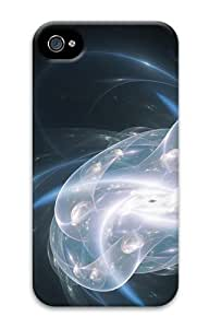 Blue Abstract Dive PC Case for iphone 4S/4