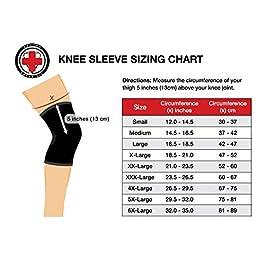 Dr. Arthritis Knee Sleeve & Doctor Written Handbook – Relief for Arthritis, tendinitis, Knee Pain & More (Black, XXXL)