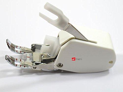 Piedino doppio trasporto per macchina da cucire Universal