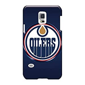 Anti-Scratch Hard Cell-phone Case For Samsung Galaxy S5 Mini With Provide Private Custom Colorful Edmonton Oilers Series Luoxunmobile333
