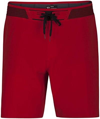 $100 BRAND NEW HURLEY PHANTOM MENS BOARD SHORTS HYPERWEAVE RED HW 36 38 x 18